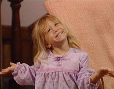 Mary-Kate Olsen as Michelle Tanner on Full House