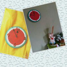 Relogio de parede ...melancia