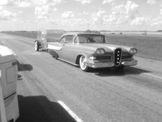 Edsel and a teardrop trailer camper - Canadian Rodder Hot Rod Community Forum