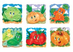 Fruits And Vegetables, Kids And Parenting, Illustrators, Color, Education, Papercraft, Food Items, Do Crafts, Fruits And Veggies