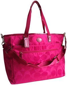 COACH Signature Nylon Baby Bag 77577 Pink Berry Coach http://www.amazon.com/dp/B00LXGVM34/ref=cm_sw_r_pi_dp_3hJ6tb0E4D8FV