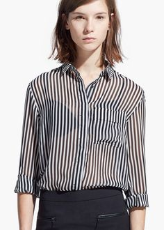 Printed flowy shirt, $34.99