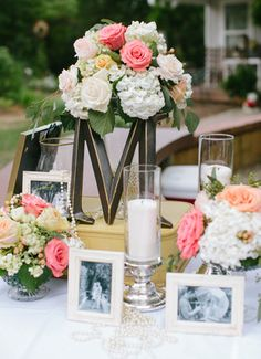 Love the decor of this table for the reception! So sweet and romantic #wedding #reception @noitranphoto