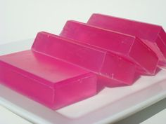 Love Spell VS Type Soap Pink Soap Glycerin Soap by HoookedSoap  $5 for 1bar