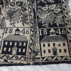 Liberty Eagles! Saltbox ANTIQUE c1846 Coverlet Piece 90x37 Reproduce it? Cut? Primitive Country, Country Decor, Eagles, Liberty, The Past, Decorating, Quilts, Blanket, Antiques