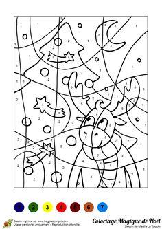 Coloriage Magique Cp Pere Noel.23 Meilleures Images Du Tableau Coloriage Magique Noel Diy