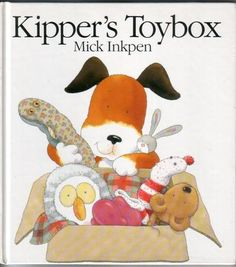 Kipper's Toybox: When Kipper locates a hole in his toybox, he finds that he has two too many toys, but as he counts and recounts his toys, he discovers that two little mice have taken up residence among his stuffed animals. Best Children Books, Kids Story Books, Childrens Books, Young Children, Kipper The Dog, Wiggles Birthday, 90s Childhood, Children's Picture Books, Toys Shop