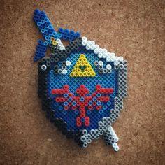 Legend of Zelda perler beads by Halemark Handcraft