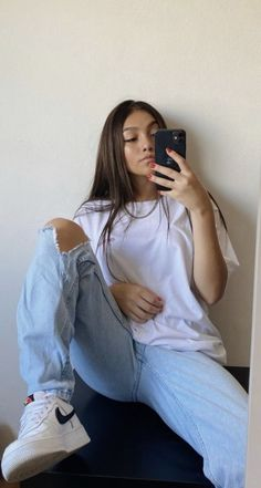 Cute Comfy Outfits, Casual Summer Outfits, Trendy Outfits, Summer Dresses, Look Fashion, Teen Fashion, Nike Fashion, Fashion Trends, Mode Instagram