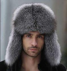 2ca74d4e9893b Men s Winter Hats Real Fox Fur amp Lamb Leather Russian Ushanka Cossack  Trapper  Unbranded