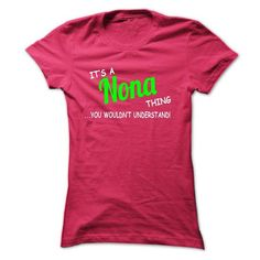 Shop 1000s of Nona T Shirt Designs Online! Find All Over Print, Classic, Fashion, Fitted, Maternity, Organic, and V Neck Tees. ==> http://wow-tshirts.com/name-t-shirts