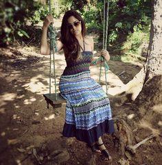 Vestido Boogie Oogie e um balanço, puro charme!  #dress #vestido #moda