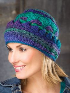 Crochet Patterns - Carpathian Peaks Hat