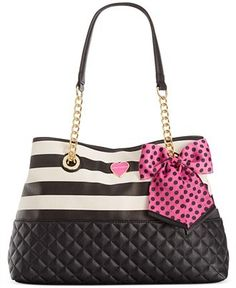 Betsey Johnson Medium Shopper - All Handbags - Handbags & Accessories - Macy's