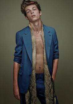 Victor Petit by Thomas Cooksey  for the Fall/Winter 2014 issue of Commons & Sense magazine