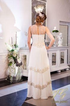 Suknia ślubna nr 3 z kolekcji Lumiere #victoriagabriela #weddingdress