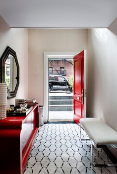 Chelsea Townhouse - contemporary - Entry - New York - David Howell Design