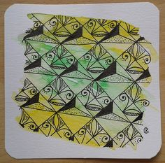 Muster Mixer #20 Trimonds + Telis | von kritzeline