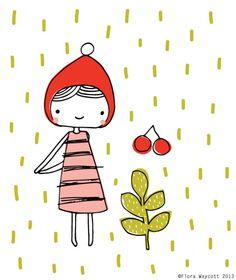 Illustration - Flora Waycott