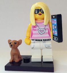 New Genuine Lego 71001 Minifigure Series 10 Trendsetter Opened bag!