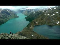 Hiking Besseggen Ridge, Norway in HD - YouTube
