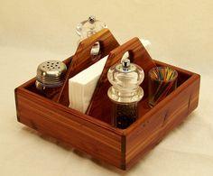 Lazy Susan, Kitchen Caddy, Condiment Holder, Smart Organizer, Aromatic Cedar wood, 9 inches