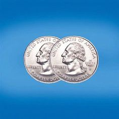 Double Sided Quarter--Hillary's people travel with a whole bunch of them in case they are needed for the coin toss! Coin Toss, Monster Eyes, Two Heads, Rare Antique, Coins, The Unit, Personalized Items, Magic, Check
