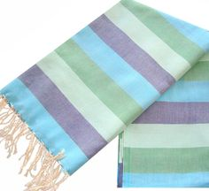 Amazon.com - Scents and Feel Multicolor with Lurex Pareo Sarong Shawl, Deep Blue - Beach Towels