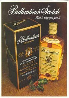 1974, Ballantine's Scotch Whisky Ad