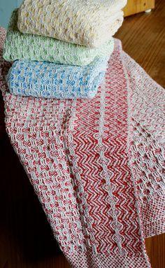 Handwoven Organic Textured Cotton Kitchen Towel