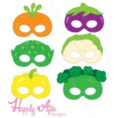 Party Printables, Ideas, and Decor! Gemüse bedruckbare Masken About the generic cialis and viagra so Printable Masks, Party Printables, Theme Carnaval, Hand Crafts For Kids, Vegetable Crafts, Educational Activities For Kids, Monthly Themes, Printable Coloring, Hobbies And Crafts