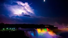 whaoaa!!! nature is crazy! rainbow~