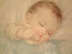 Charlotte Becker - baby sleep Reminds me of the pictures Mom had hung in her bedroom!!  Beautiful!