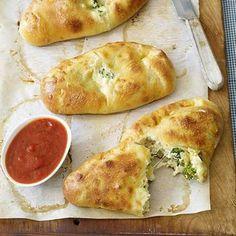 Easy dinner recipes: Vegetable Calzones