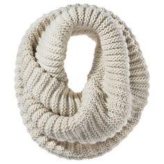 A cozy infinity scarf
