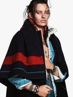 Amanda Murphy by Greg Kadel for Vogue Australia // October 2015
