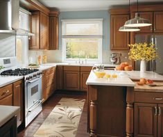 Diamond at Lowes - Birkdale Maple Cattail Kitchen Cabinets Reviews, Cost Of Kitchen Cabinets, Refacing Kitchen Cabinets, Kitchen Cabinet Design, Kitchen Cabinetry, Craftsman Kitchen, Rustic Kitchen, Kitchen Decor Items, Kitchen Ideas