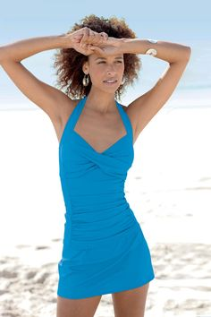 Ruched Skirtini By Shape Benefits Misses   Chadwicks