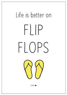 Elske: flip flops
