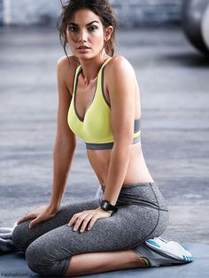 Lily Aldridge for Victoria's Secret VSX collection