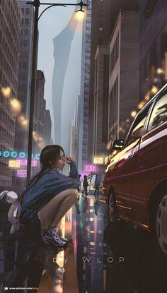1440x2560 Wallpaper, Anime Scenery Wallpaper, Digital Art Anime, Digital Art Girl, Pretty Art, Cute Art, Aesthetic Art, Aesthetic Anime, Applis Photo