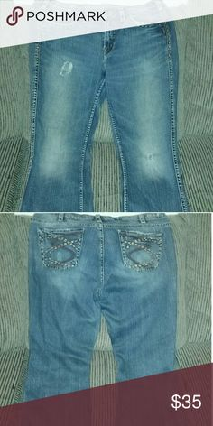 Jeans In good condition Silver Jeans Flare & Wide Leg