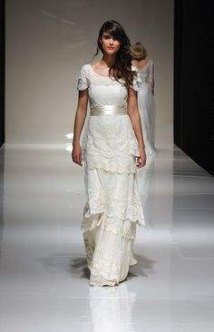 Vintage Wedding Dress Company 2012 Bridal Collection/ I would wear dresses like this all the time if they came in different colors.