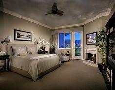 schlafzimmer streichen ideen beige hellgrau kombination