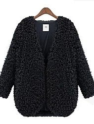 Women'S New Wool Fur Long Sleeve Coat Save up to 80% Off at Light in the Box with Coupon and Promo Codes.