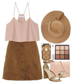 """Untitled #2189"" by seventeene ❤ liked on Polyvore featuring Eugenia Kim, Louis Vuitton, TIBI and Morphe"