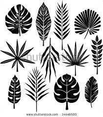 hawaiian leaf template - Google Search
