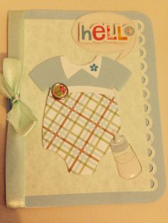 Baby's card