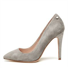 Match Point Pump from Mimco Match Point, My Wallet, My Wardrobe, Heeled Mules, Stiletto Heels, Glamour, Pumps, Shoe Bag, How To Wear