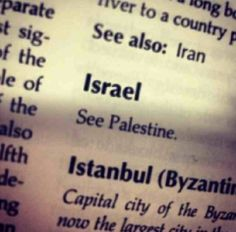 'Israel' doesn't exist. Deciding One Fine Day that you'll rename the moon 'squirrel' won't in fact deem it a squirrel. Palestine forever.